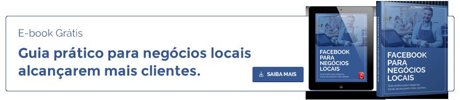 Banner ebook Facebook para negócios locais