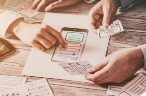 planejando criação UX design de uma landing page