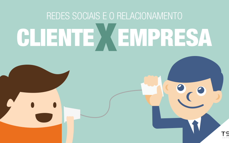 Redes sociais e o relacionamento cliente x empresa