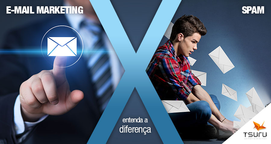 E-mail Marketing x SPAM: entenda a diferença