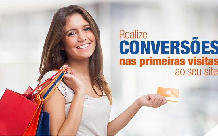 Realize conversões nas primeiras visitas ao seu site