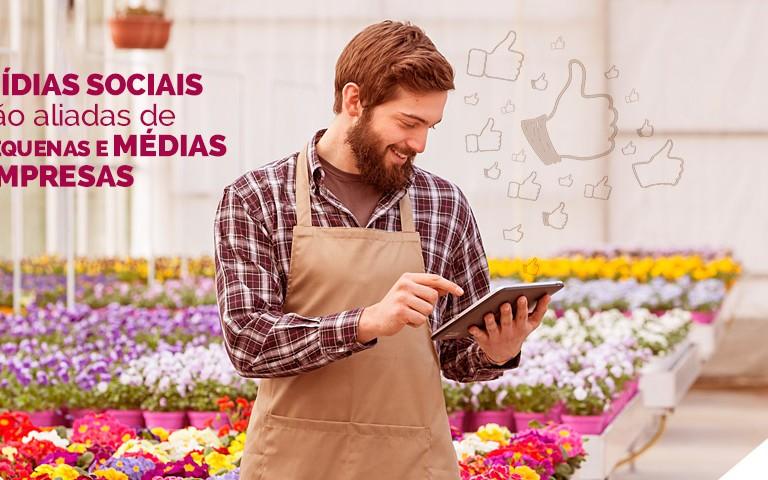 Mídias sociais são aliadas de pequenas e médias empresas
