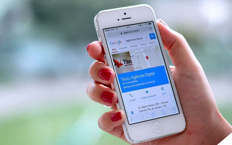 Novo algoritmo do Google dá prioridade a sites responsivos em seus resultados de busca.